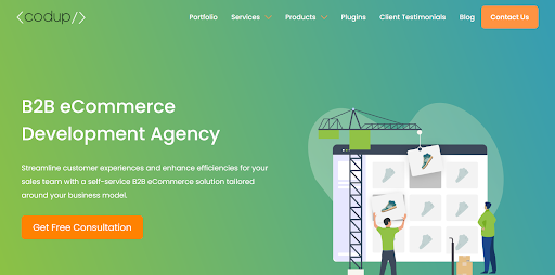 Contact an Ecommerce Development Agency