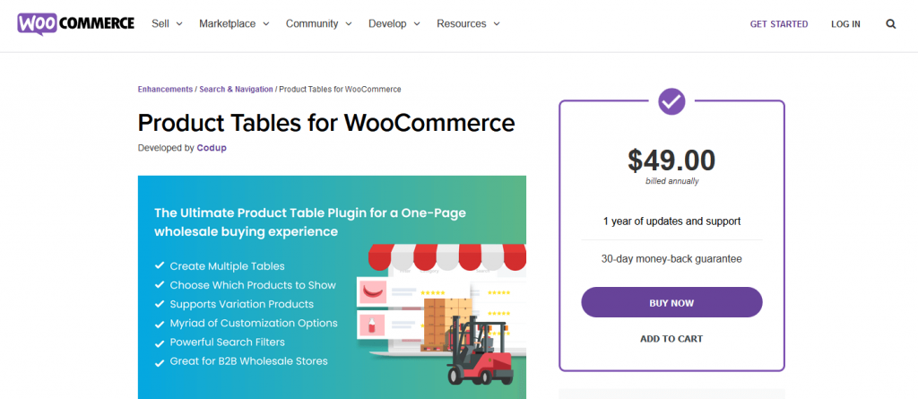 product display for woocommerce